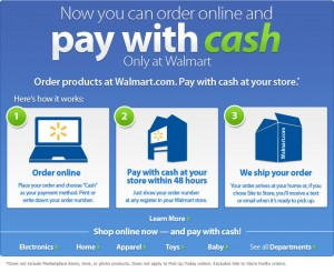 order online pay cash in store