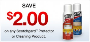 scotch guard protector product coupon