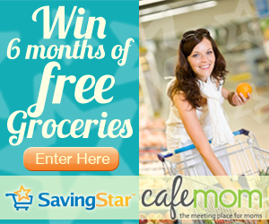 saving star win 6 months of groceries