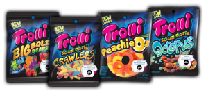 candy coupon gummy chewy candy trolli crawlers worms