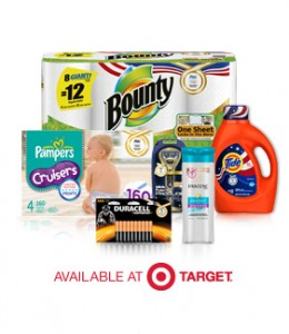 get Proctor & Gamble coupons for Target Text TEAMUSA