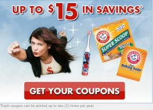 arm & hammer product coupons household coupons