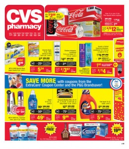 cvs weekly sales ad 7/29 - 8/4 coupon match-ups
