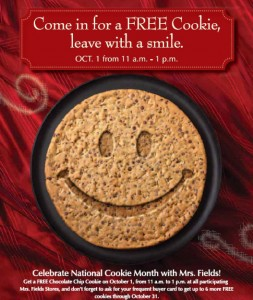 october is cookie month