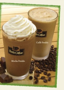 free medium iced or ice blended august 1 peet's coffee