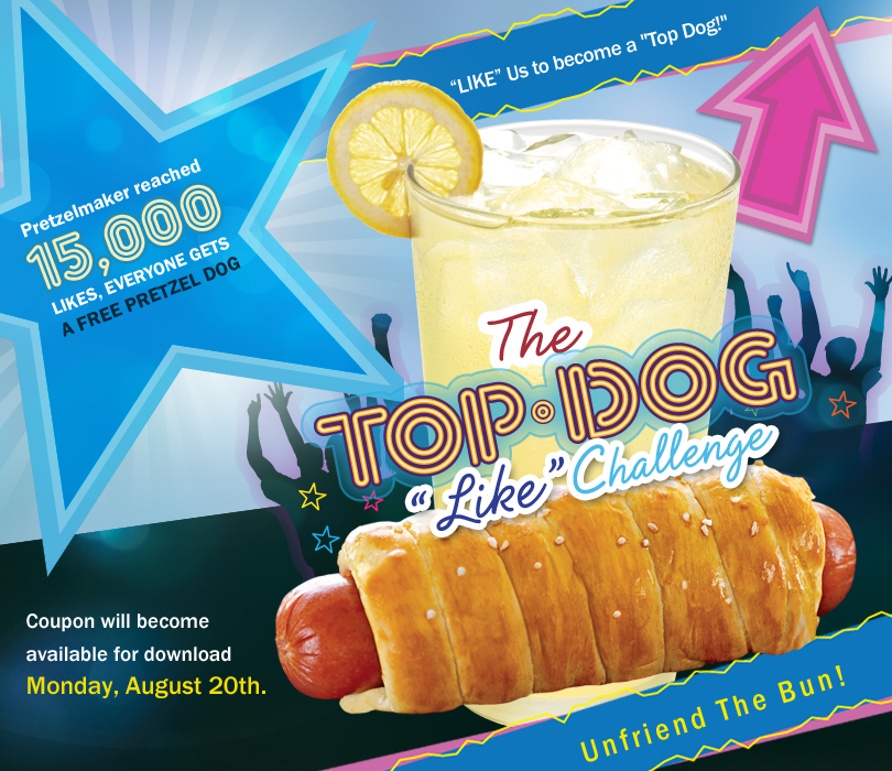 free hot dog with coupon Monday August 20th freebie