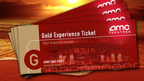 goldstar AMC ticket pack