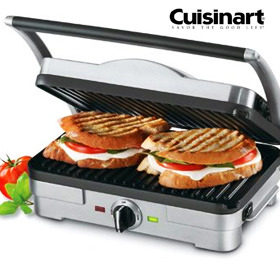 no more rack daily deal cuisinart panini press grill griddle