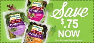 earthbound farms power meals coupon Today show