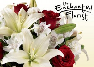 save 50% off floral arrangement