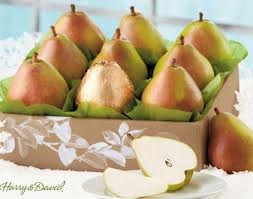 harry & david gifts fruit The Royal Pears box