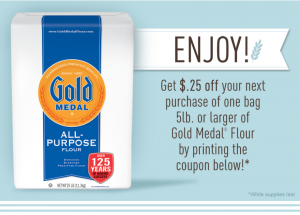 gold medal flour facebook coupon