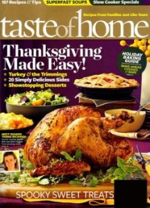 discount magazine holiday recipes