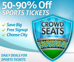 sports tickets sales discounts