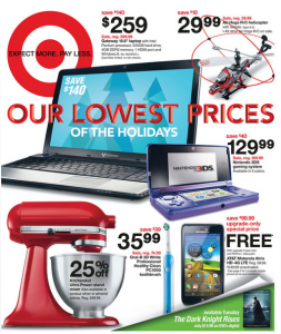 target weekly sales ad coupon match-ups