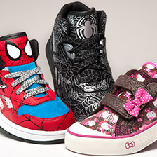 finish line kids character shoes